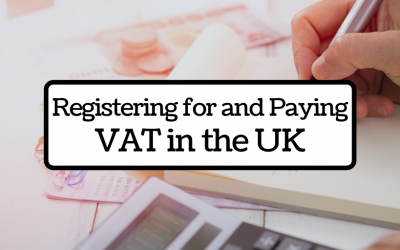 Registering for and paying VAT in the UK