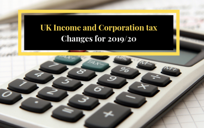 UK income and corporation tax – Changes for 2019/2020 tax year